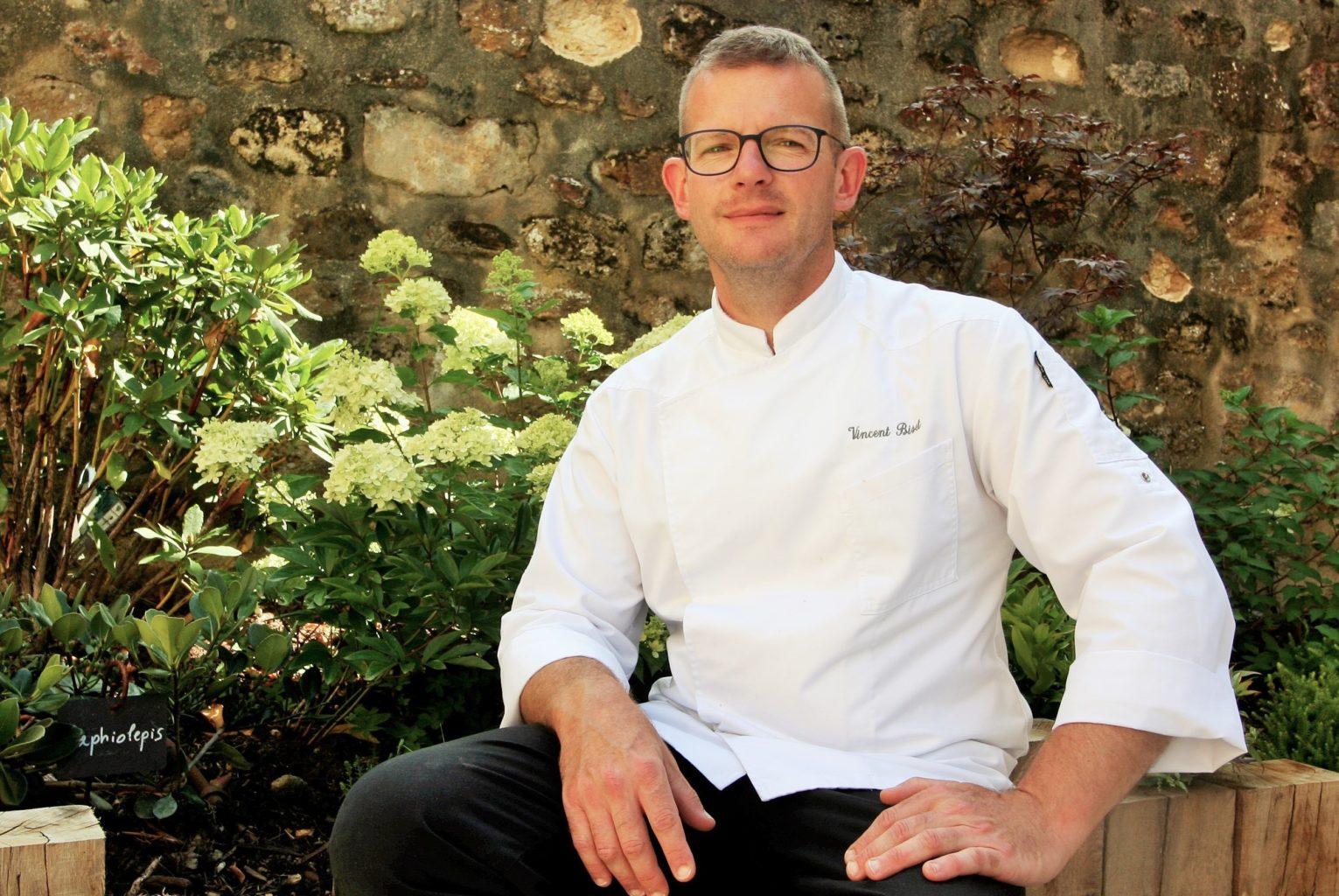 Vincent Biset, chef cuisinier du restaurant le Tribunal, maître cuisinier de France