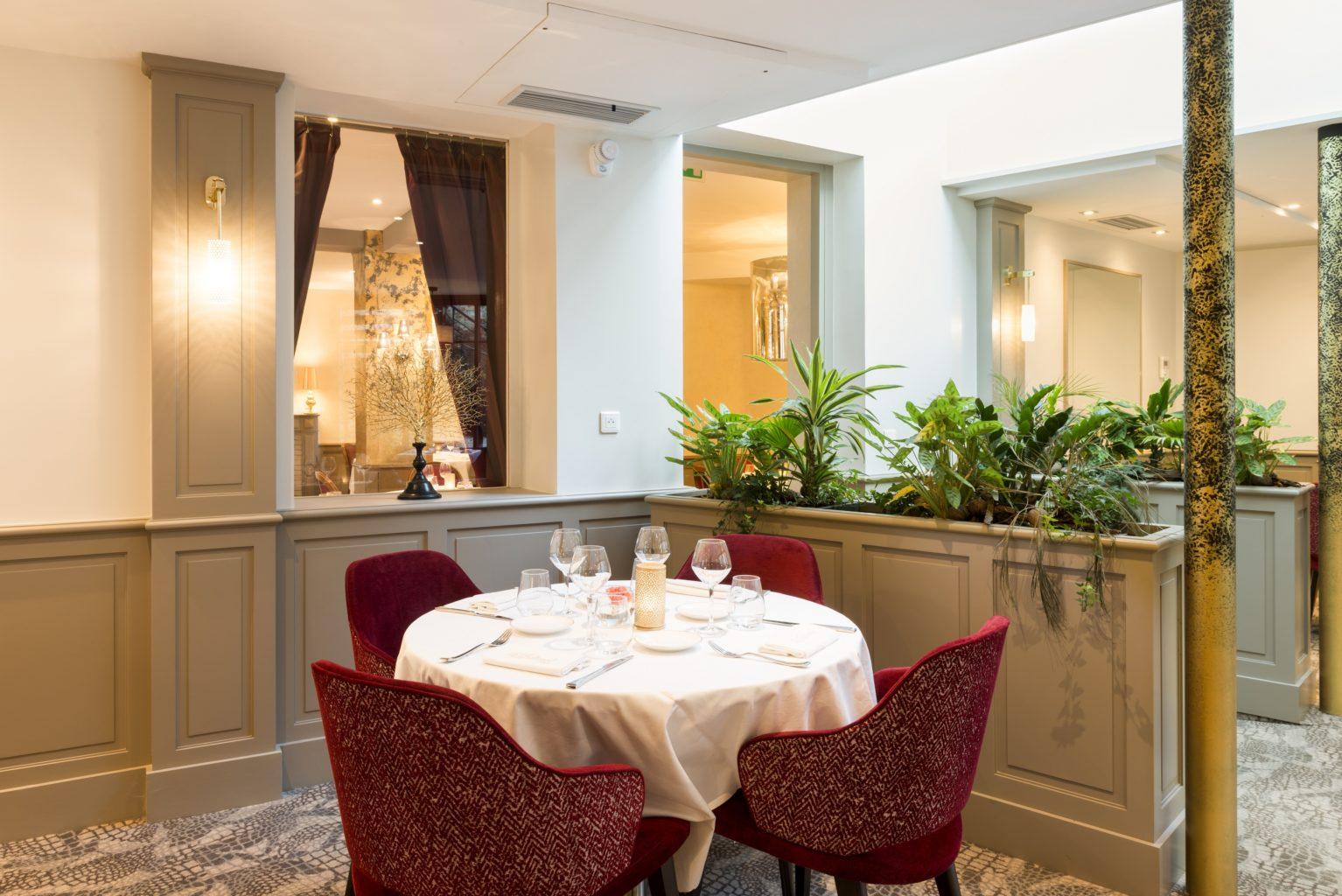 Hôtel Restaurant du Hôtel restaurant Tribunal Mortagne au Perche ©Antoine Cardi